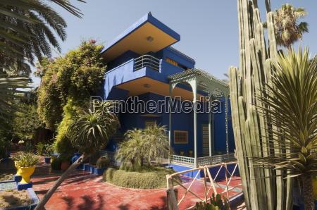 majorelle gardens marrakech morocco north africa