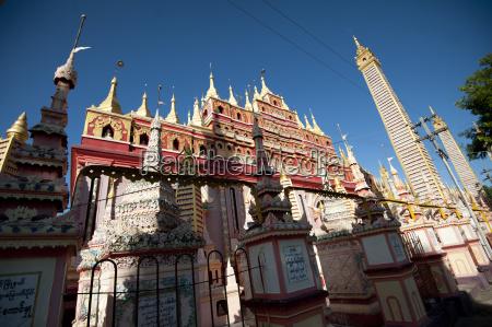 thanboddhay pagode sagte zu halten 100000