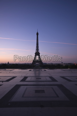 trocadero eiffel tower paris france europe