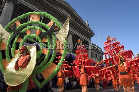 st patricks day parade celebrations dublin