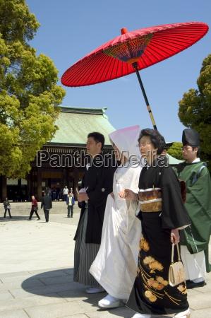 traditional wedding ceremony meiji jingu shrine