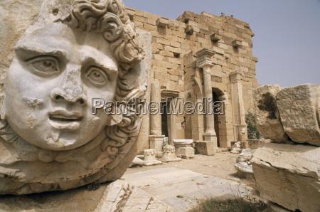 septimius severus septimus severus forum leptis