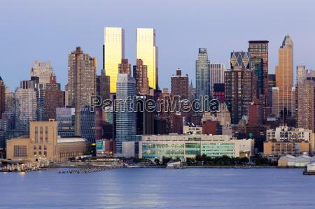 blau architektonisch stadt farbe modern moderne