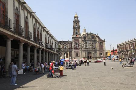 church of santo domingo plaza de