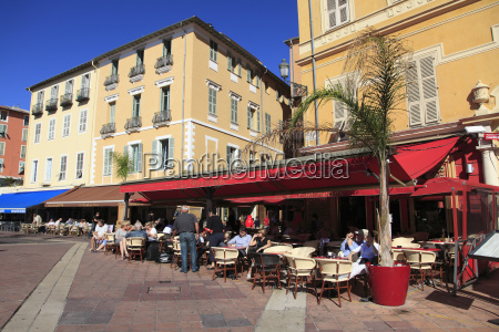 cafe cours saleya old town nice