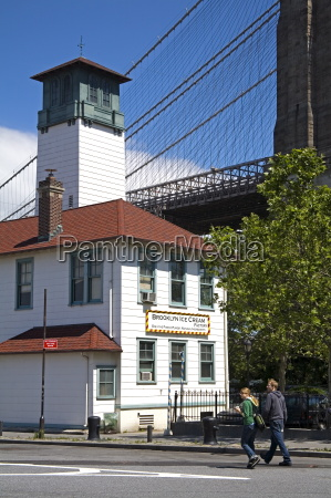 old fulton ferry building dumbo district