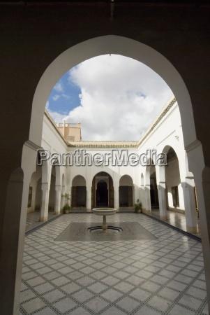 bahia palace marrakech marrakesh morocco north