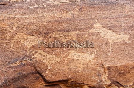 petroglyphs or rock engravings twyfelfontein unesco