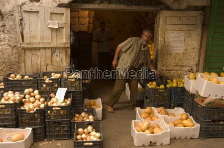 fruit seller tripoli lebanon middle east