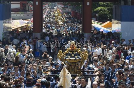 mikoshi portable shrine of the gods