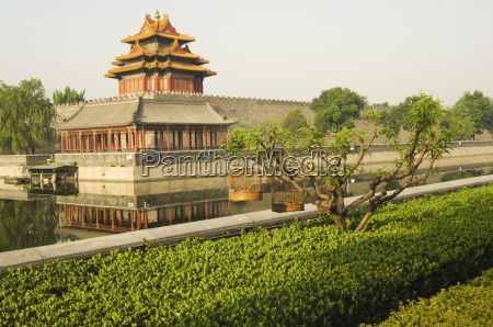 wall tower of the forbidden city