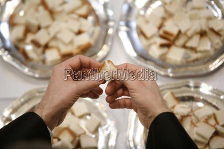 protestantische, eucharistie, paris, ile, de, france, frankreich, europa - 20757567
