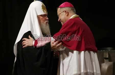 moscow orthodox patriarch alexis ii with