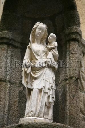 virgin and child st malo ille