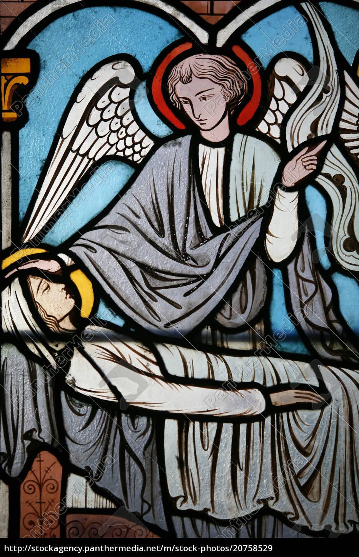 glasmalereifenster, von, alfred, gerente, zeigt, das - 20758529