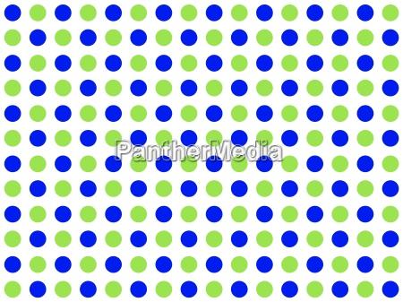 hintergrund weiss mit punkten blau gruen