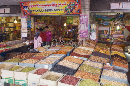 dried fruit being sold at the
