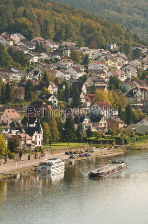 view of the neckar river and