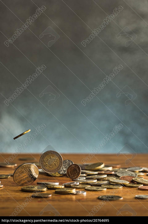die, silbernen, und, goldenen, münzen, und - 20764695