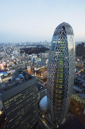 tokyo mode gakuen cocoon tower design