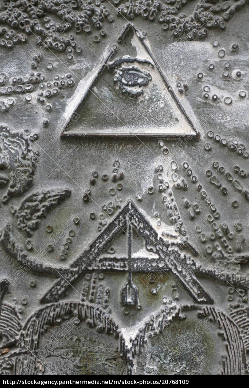 freimaurerische, symbole, von, winkelklammer, und, delta - 20768109