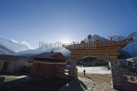 tengboche monastery tengboche solu khumbu everest