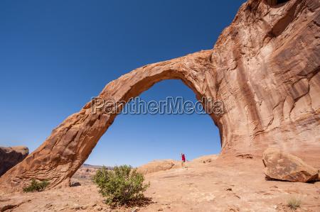 corona arch moab utah united states