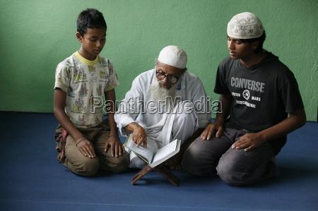 koranschule bhaktapur nepal asien