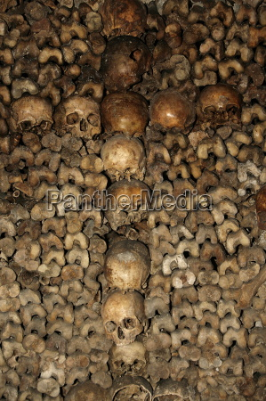 the paris catacombs paris france europe