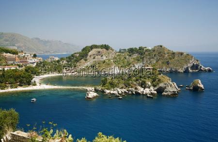 isola bella island and beach taormina