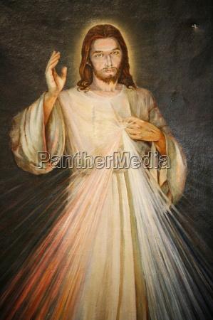 merciful christ paris france europe