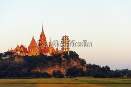 wat tham sua temple kanchanaburi thailand