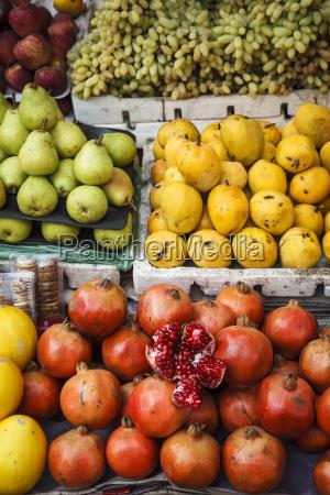 detail of fruits at mapusa market