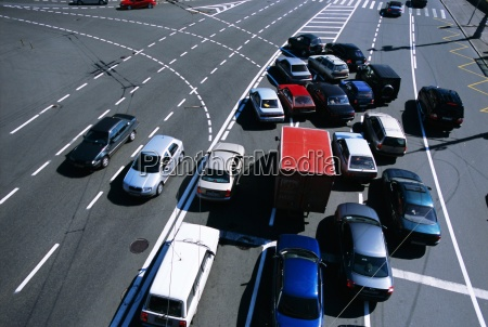 traffic near the kremlin moscow russia