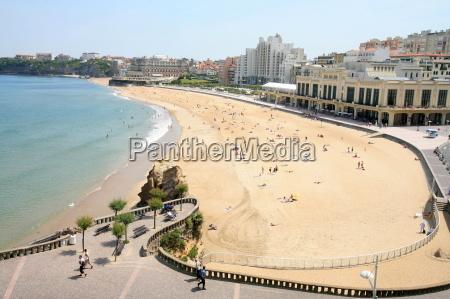 casino beach in biarritz pyrenees atlantique