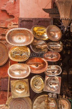 copper sinks in the medina marrakech