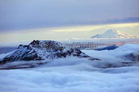berge wolke horizontal outdoor freiluft freiluftaktivitaet