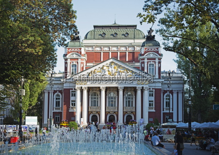 ivan vazov national theatre sofia bulgaria