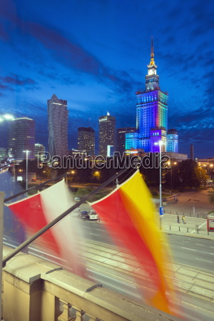 palace of culture and science at