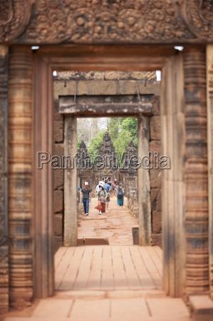banteay srei temple angkor unesco world