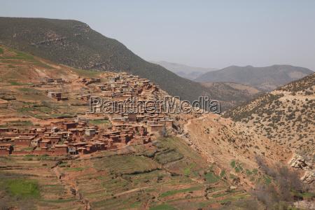 berge afrika horizontal plaetze orte outdoor