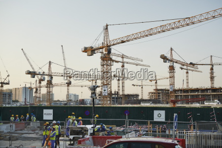 msheireb downtown doha baustelle des projekts