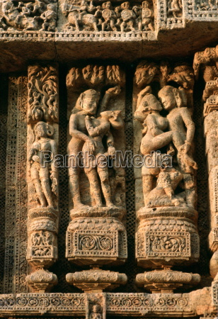 erotic carvings on the sun temple
