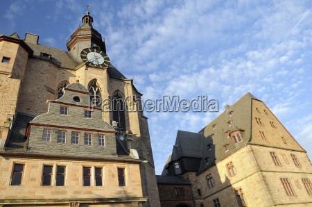 landgrave castle clock tower university museum