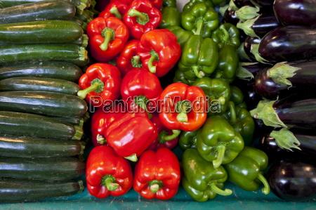 vegetables for sale at market place