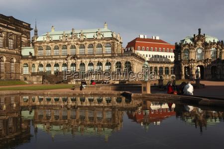 fahrt reisen reflexion europa touristen horizontal