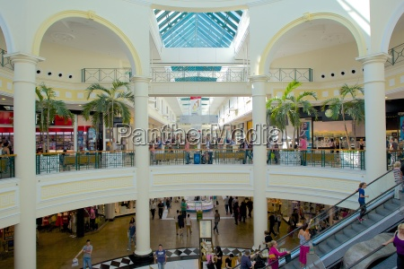 interior of meadowhall shopping centre sheffield