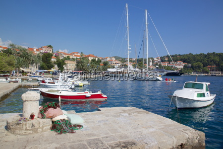 view of old town and boats