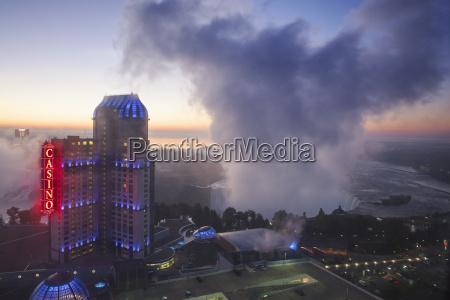 view of fallsview casino resort and