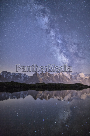 a sharp milky way on a